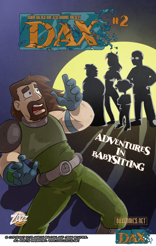 Adventures in Babysitting – Cover