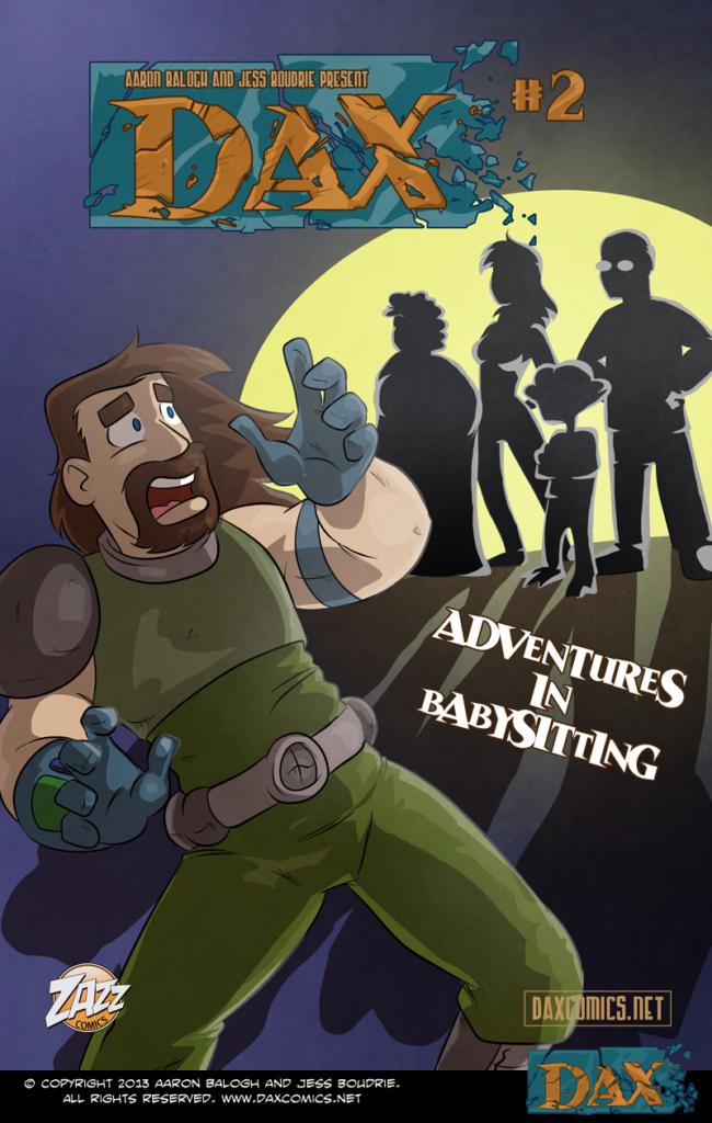 Adventures in Babysitting – Cover