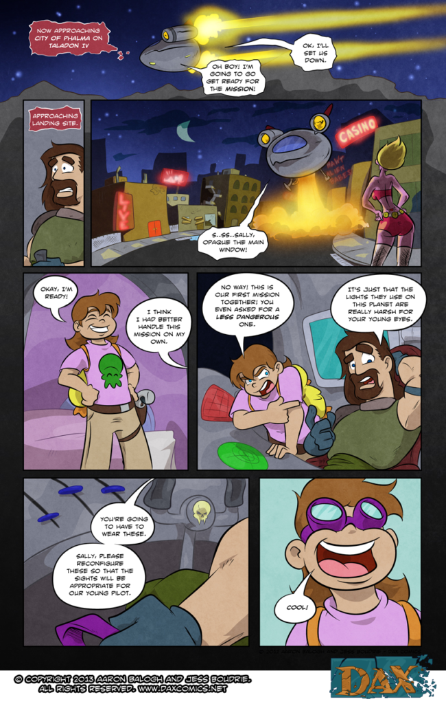 Adventures in Babysitting  – Page 09