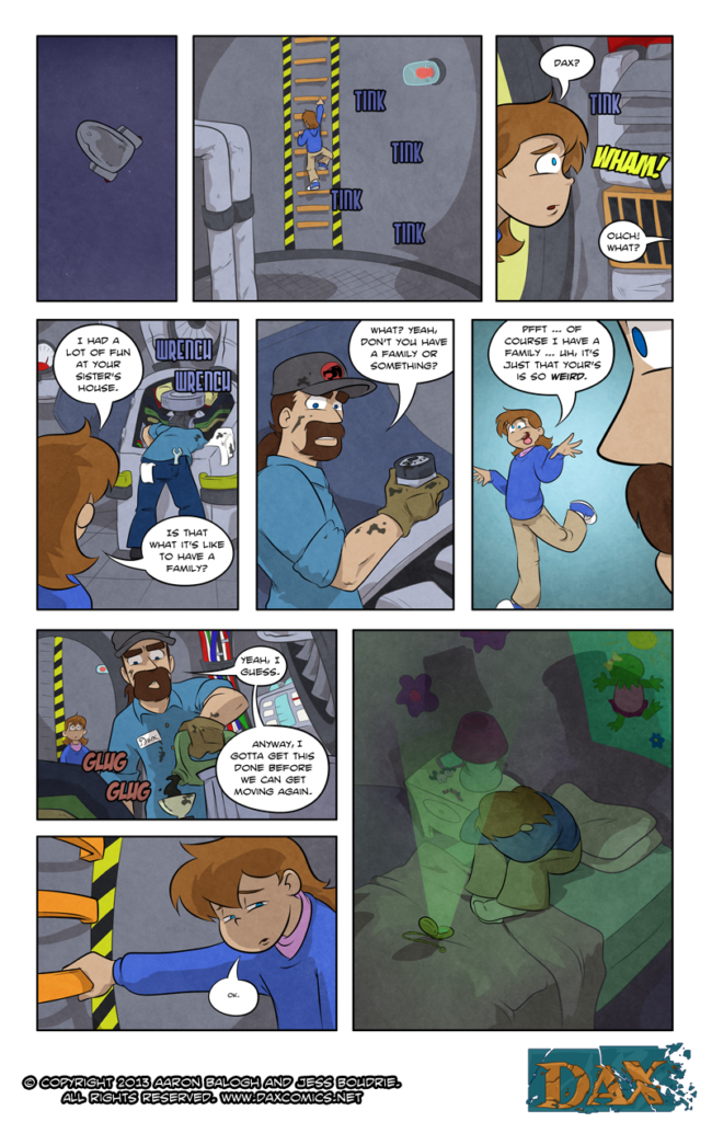 Adventures in Babysitting – Page 19