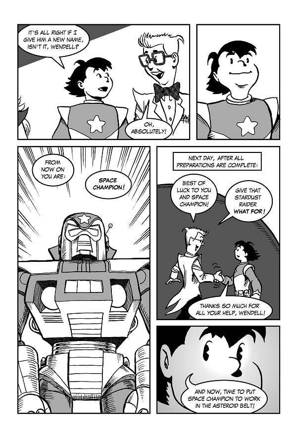 Space Champion!