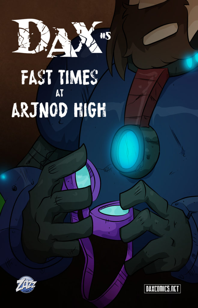 Fast Times at Arjnod High – Cover