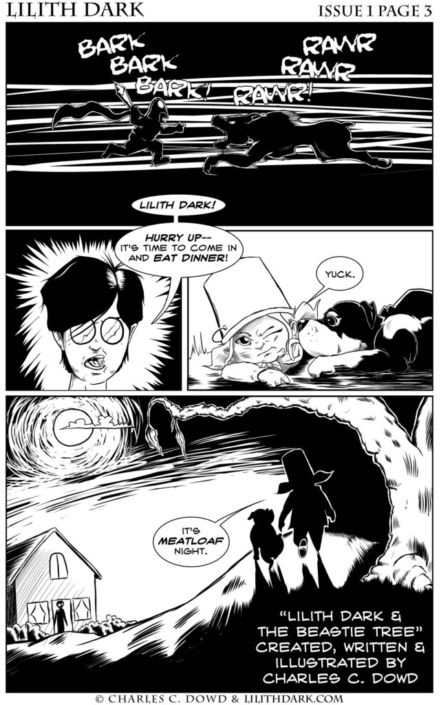 Lilith Dark Issue 1 Page 3