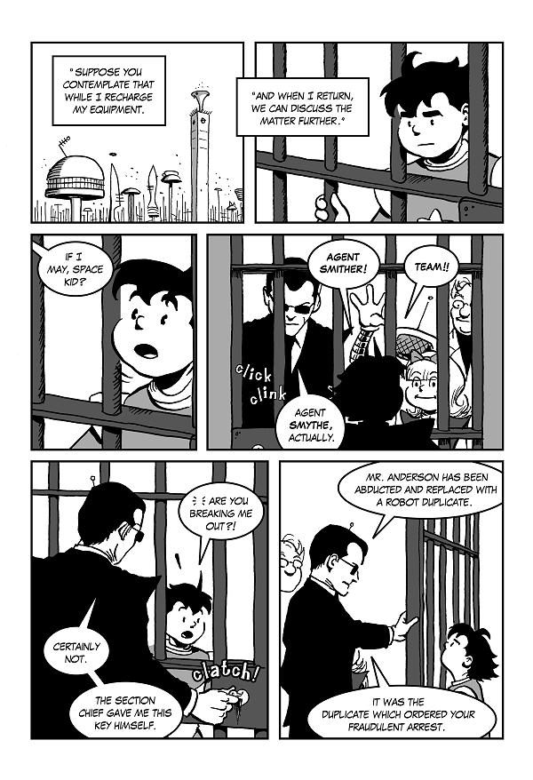 fraudulent arrest