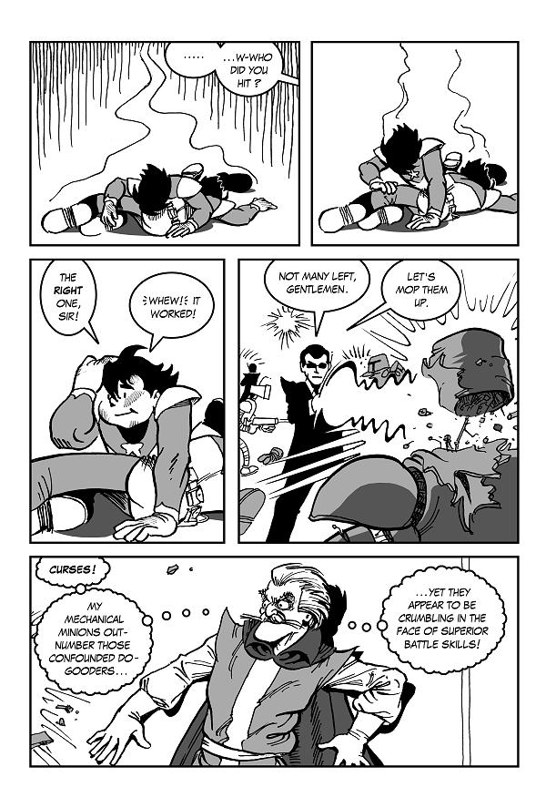 Space Kid comic ep 7 pg 40