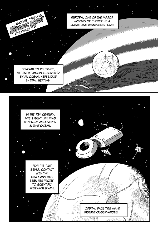 Space Kid Episode 8 page 1