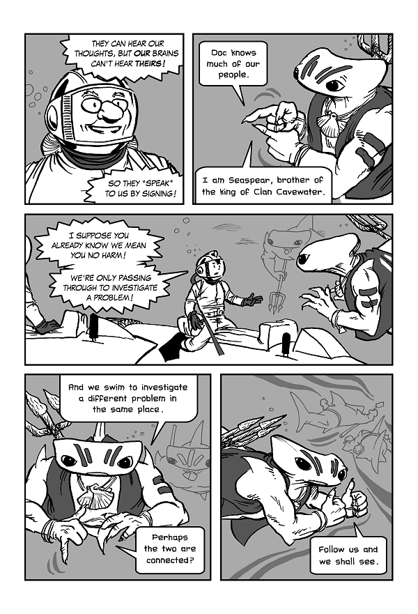 Space Kid comics Episode 8 page 11