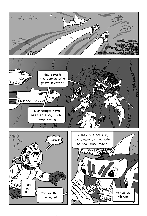 Space Kid comics Episode 8 page 12