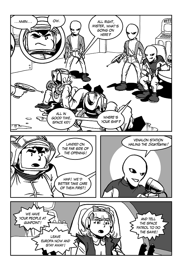 Space Kid comics Episode 8 page 17