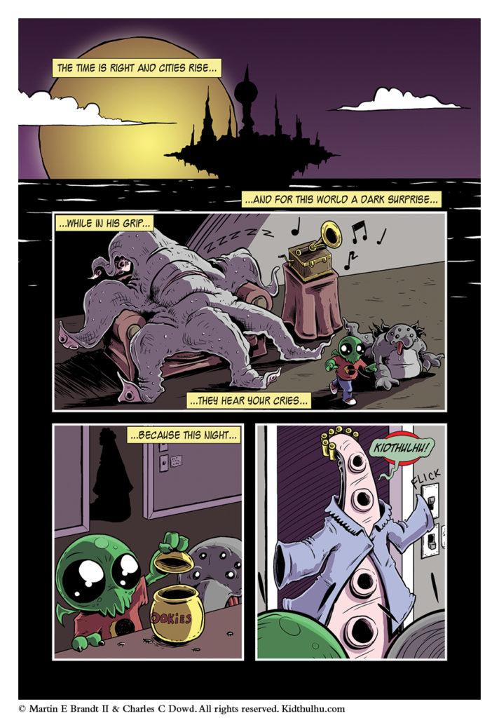 Kidthulhu: Tales of Madness Page 1