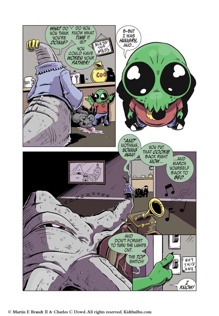 Kidthulhu Page 3