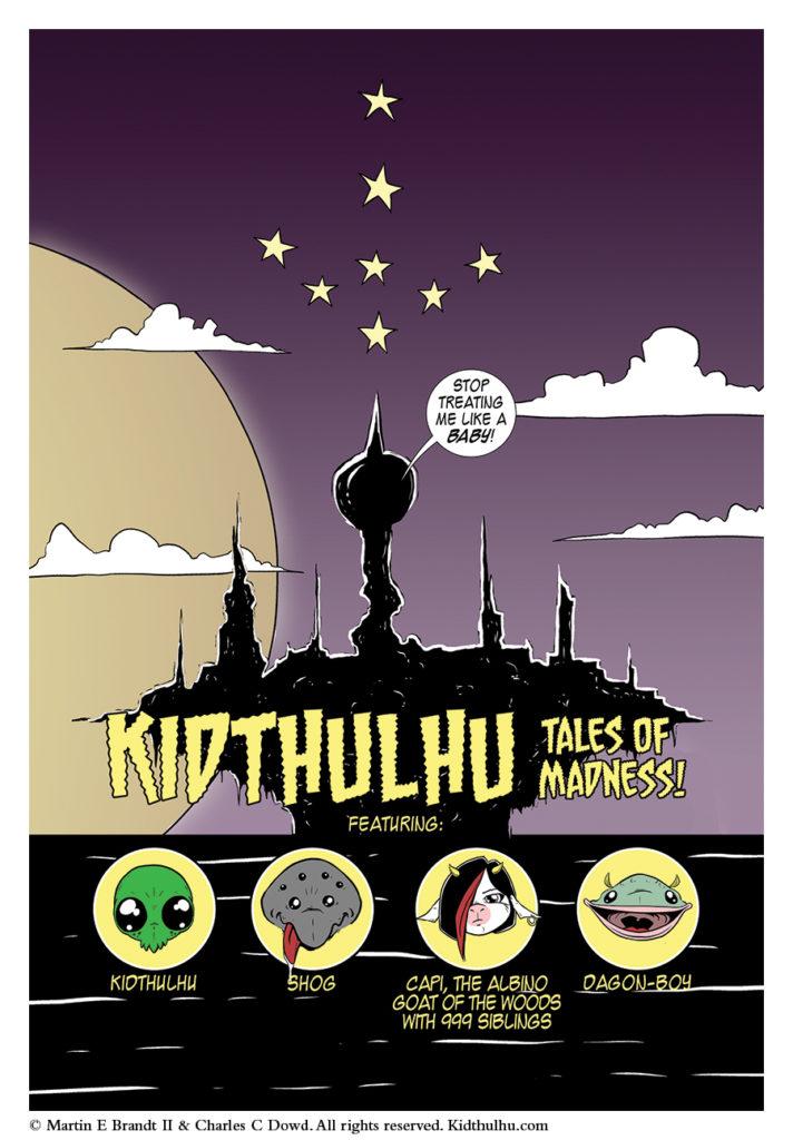 Kidthulhu Page 4
