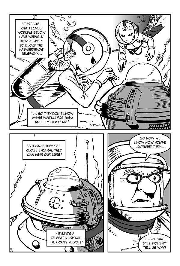 Space Kid comics Episode 8 page 20