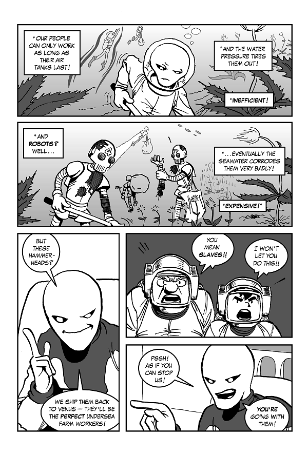 Space Kid comics Episode 8 page 22