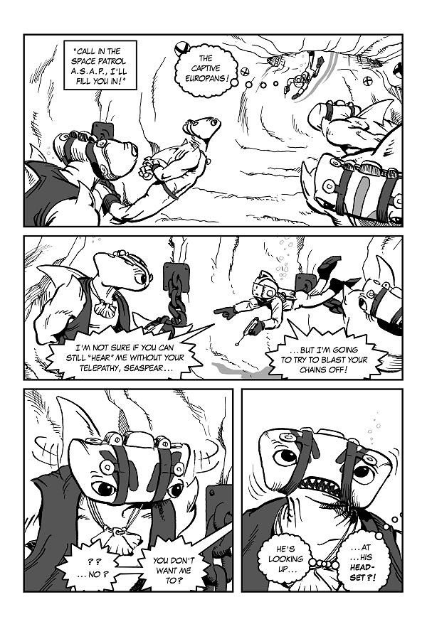 Space Kid Episode Eight page 28