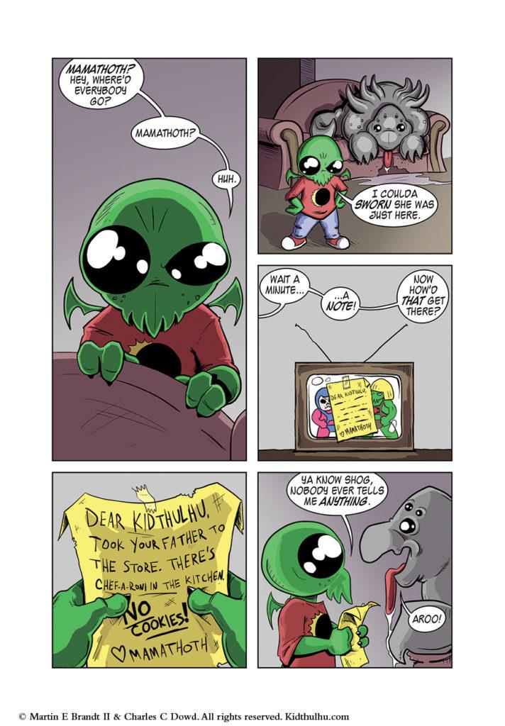 Kidthulhu Page 7