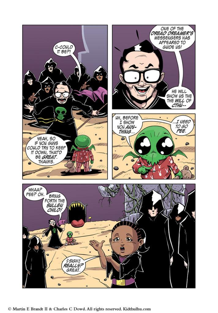 Kidthulhu Page 10