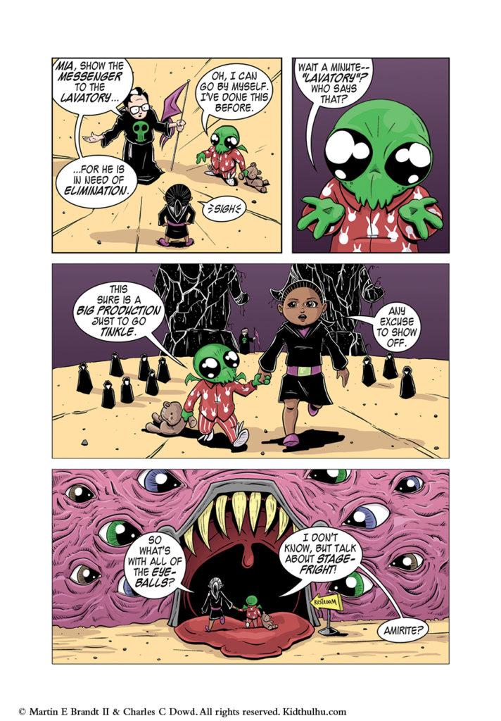 Kidthulhu Page 11
