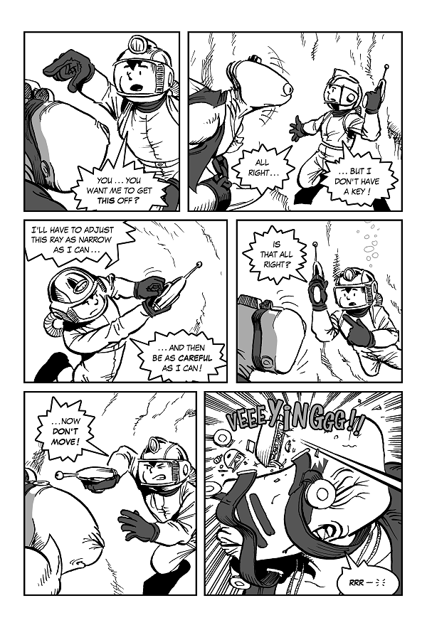 Space Kid comics Episode Eight page 29