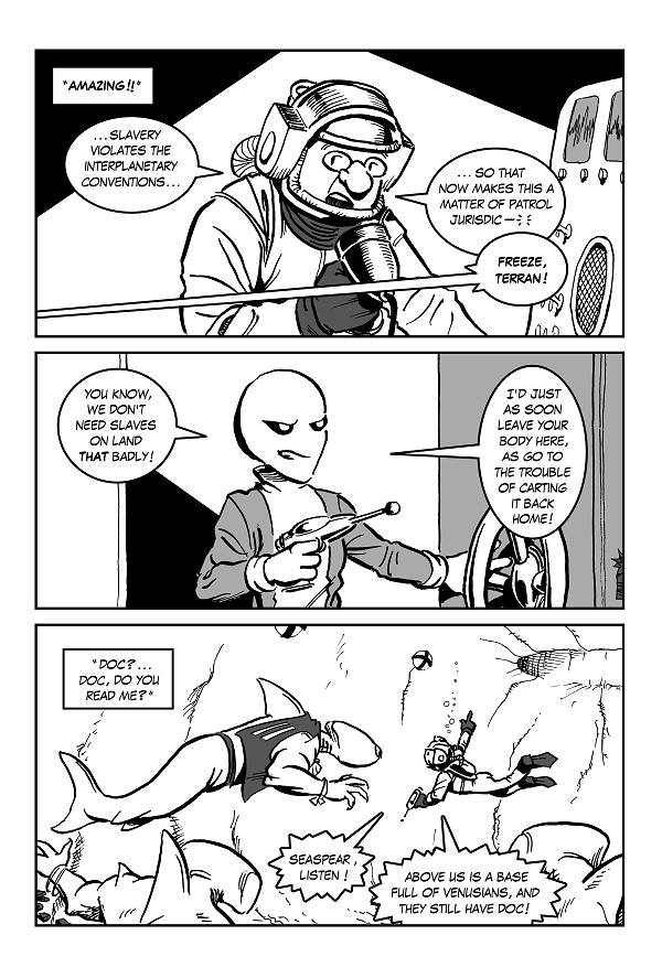 Space Kid comics Episode Eight page 31