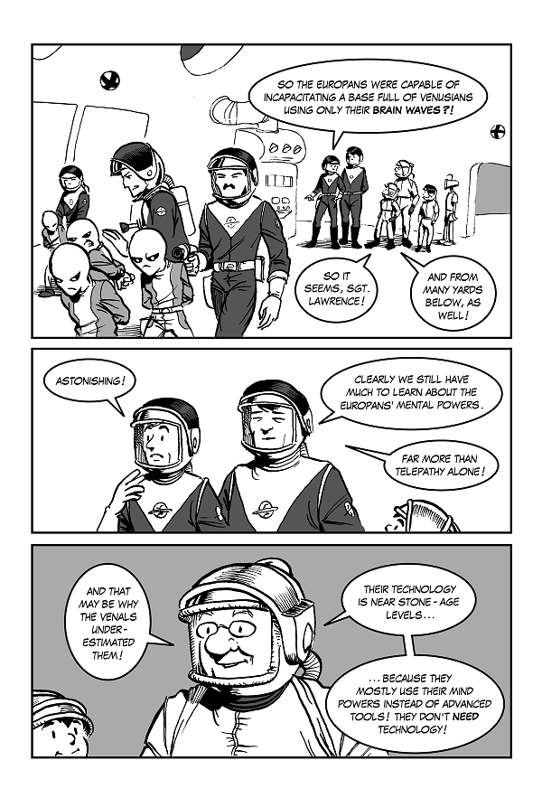 Space Kid comics Episode 8 page 34
