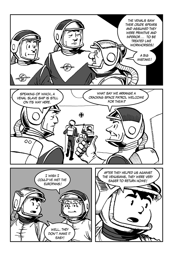 Space Kid comics Episode 8 page 35