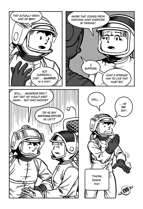 Space Kid comics Episode Eight page 36
