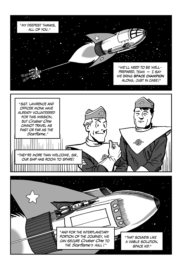 Space Kid comics episode 9 pg 9