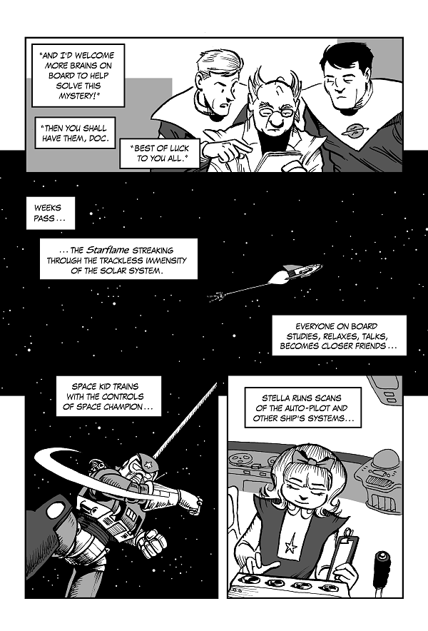 Space Kid comics episode 9 pg 10