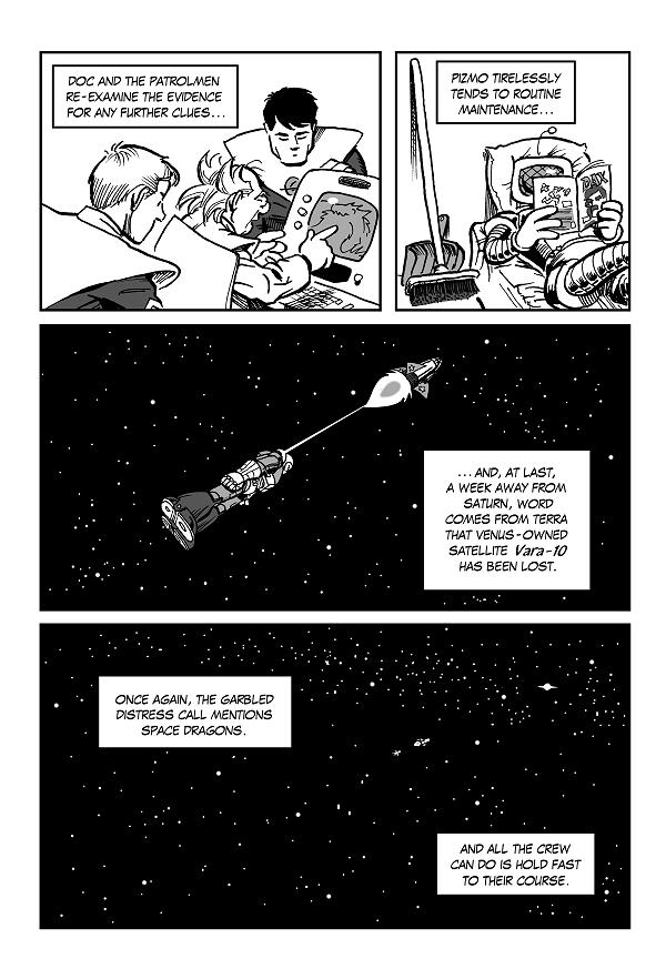 Space Kid comics episode 9 pg 11