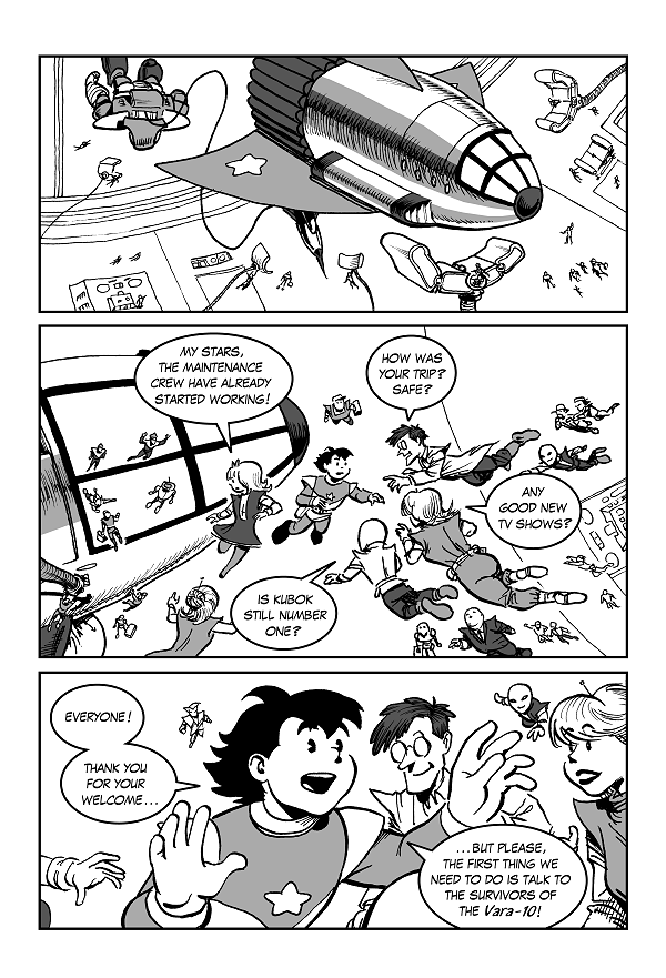 Space Kid comics episode 9 pg 13