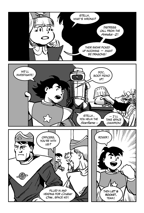 Space Kid comics Episode 9 pg 17