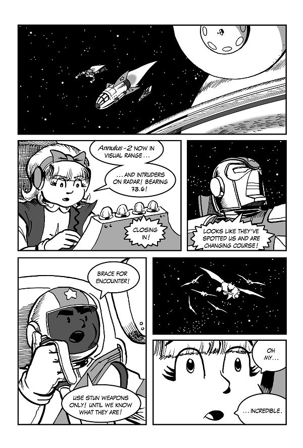 Space Kid comics Episode 9 page 18