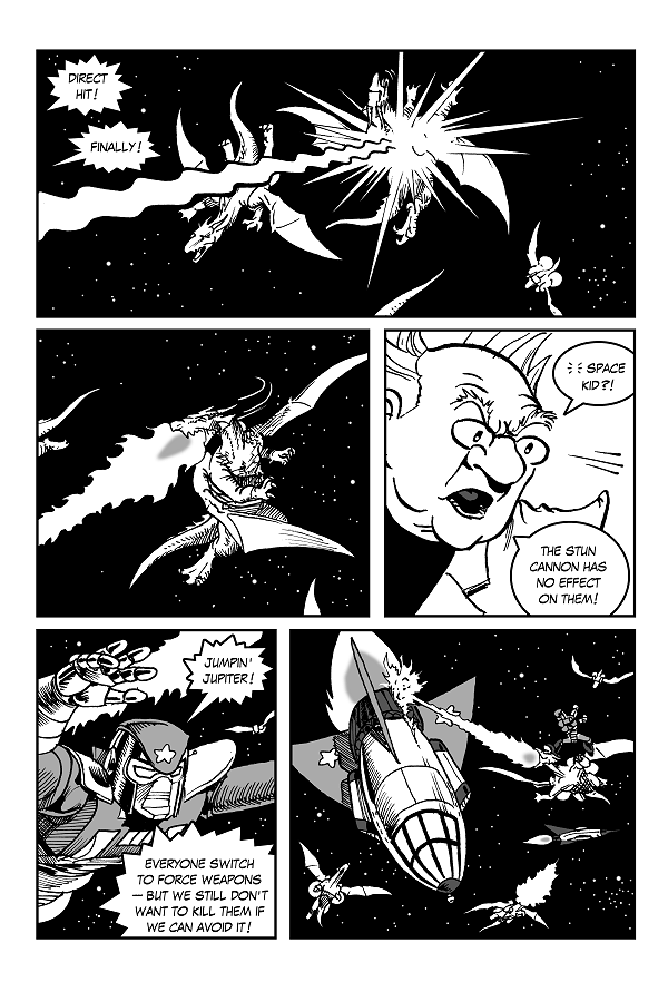 Space Kid comics Episode 9 page 21