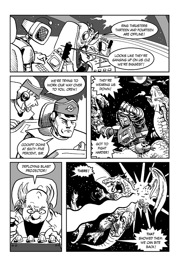 Space Kid comics Episode 9 page 22