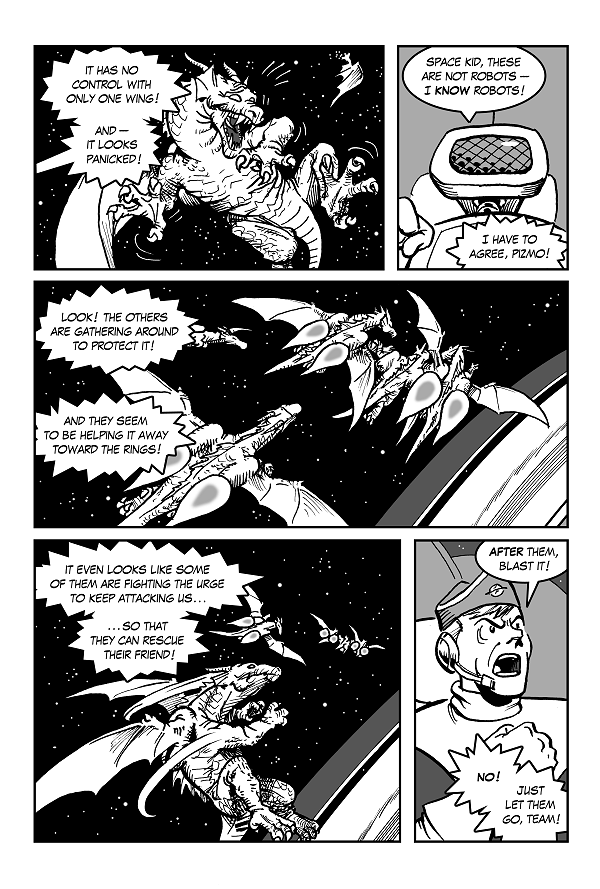 Space Kid comics Episode 9 page 23
