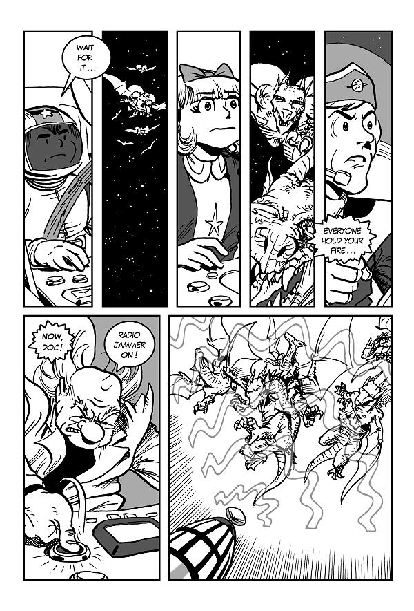 Space Kid comics Episode 9 pg 31
