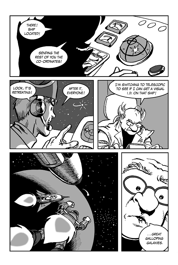 Space Kid comics Episode 9 pg 33