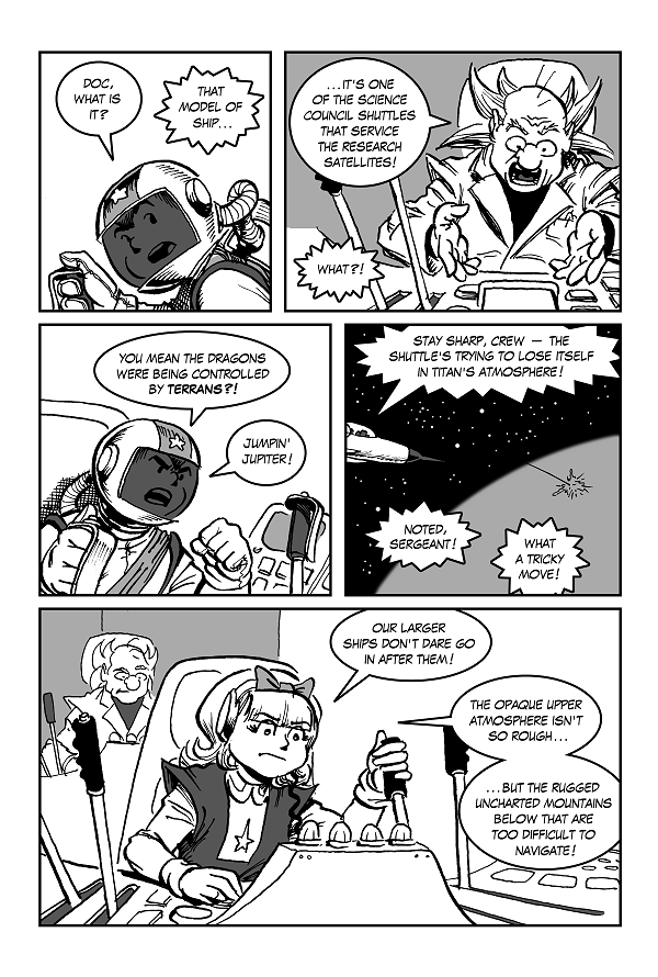 Space Kid comics Episode 9 pg 34
