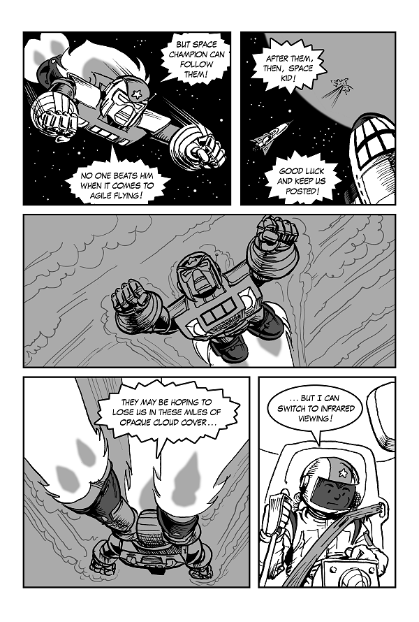 Space Kid comics Episode 9 pg 35