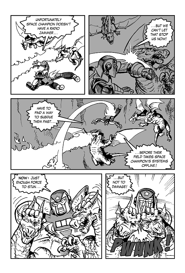 Space Kid comics Episode 9 pg 39