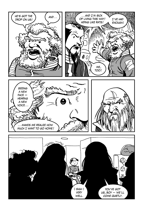 Space Kid comics Episode 9 pg 43