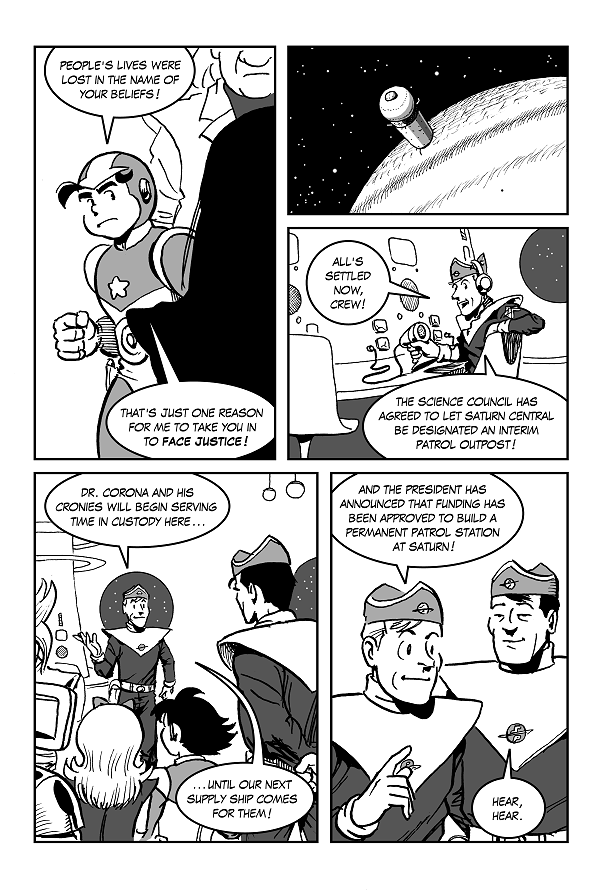 Space Kid comics Episode 9 pg 49