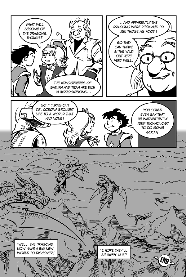 Space Kid comics Episode 9 pg 50
